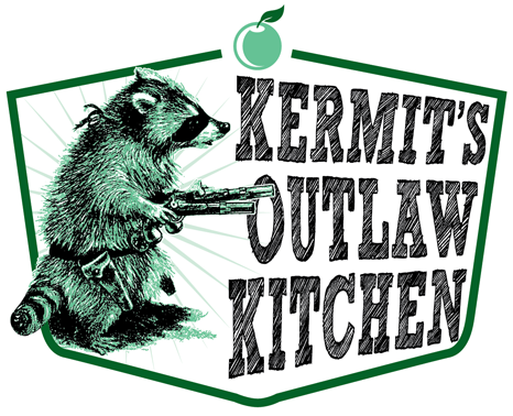 Kermit's Outlaw Kitchen Retina Logo